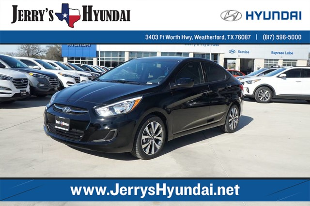 new 2017 hyundai accent value edition 4dr car h256613 jerry durant auto group. Black Bedroom Furniture Sets. Home Design Ideas